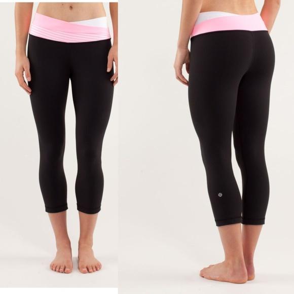6fd174c4872c6c lululemon athletica Pants | Lululemon Astro Wunder Under Crop Size 2 ...